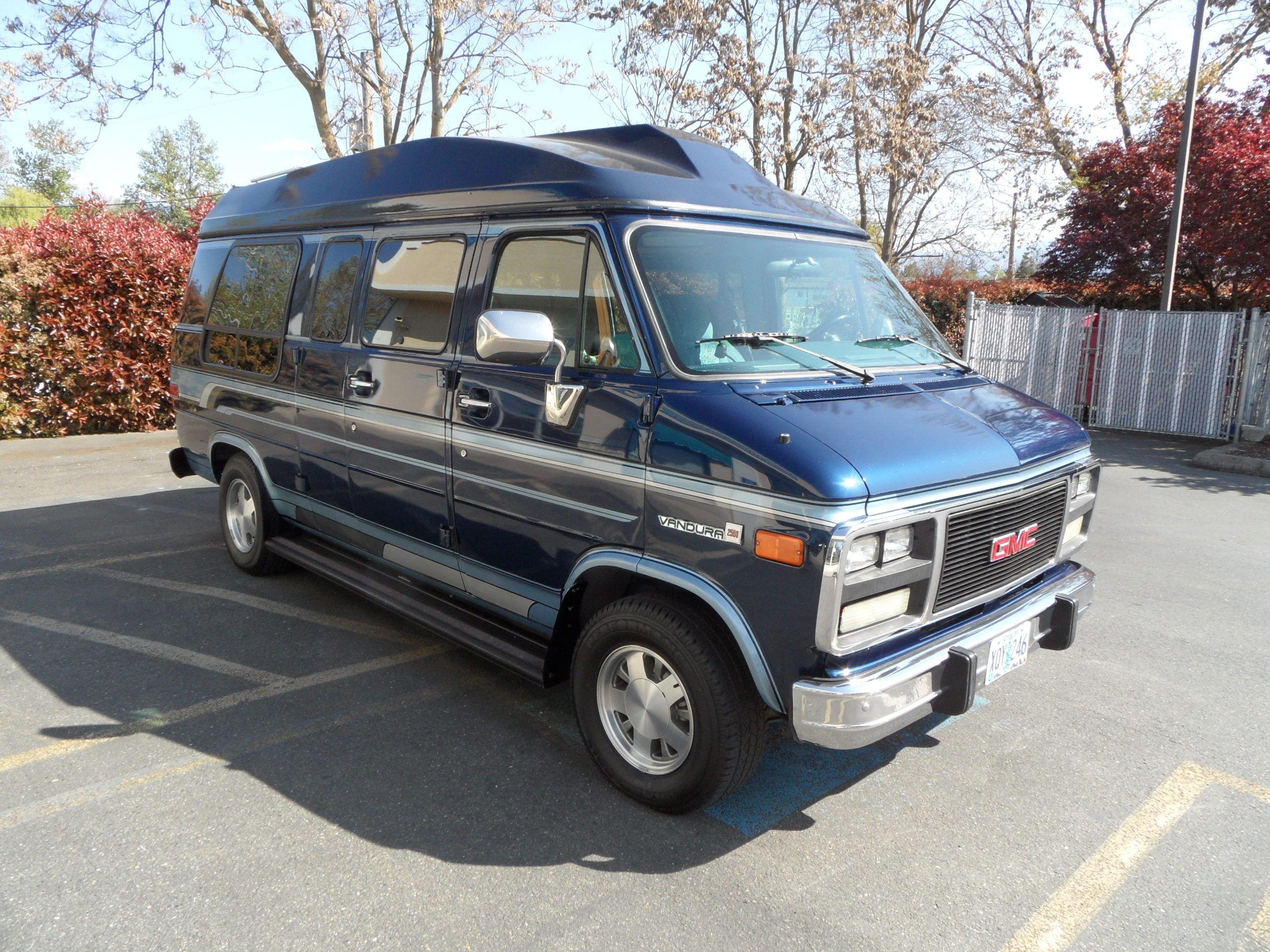 1995 gmc vandura 2500