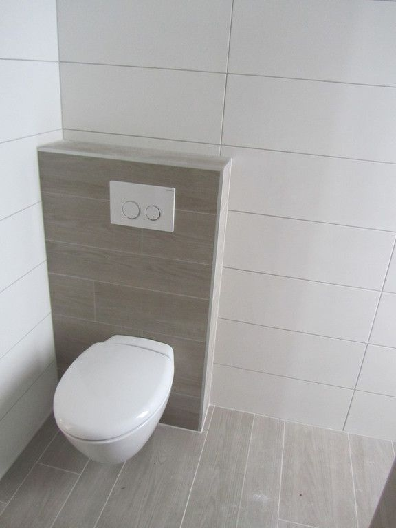 Toilette - Réalisation Carrelage Deck Mothern | LAKÁS | Pinterest ...