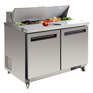Picture Of Refrigerated Prep Station Adjustable Shelving