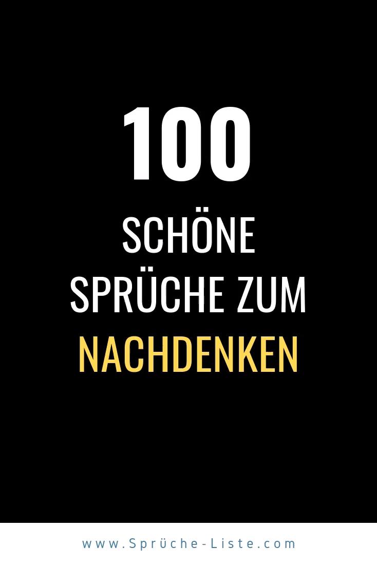 Photo of 100 Schöne Sprüche zum Nachdenken