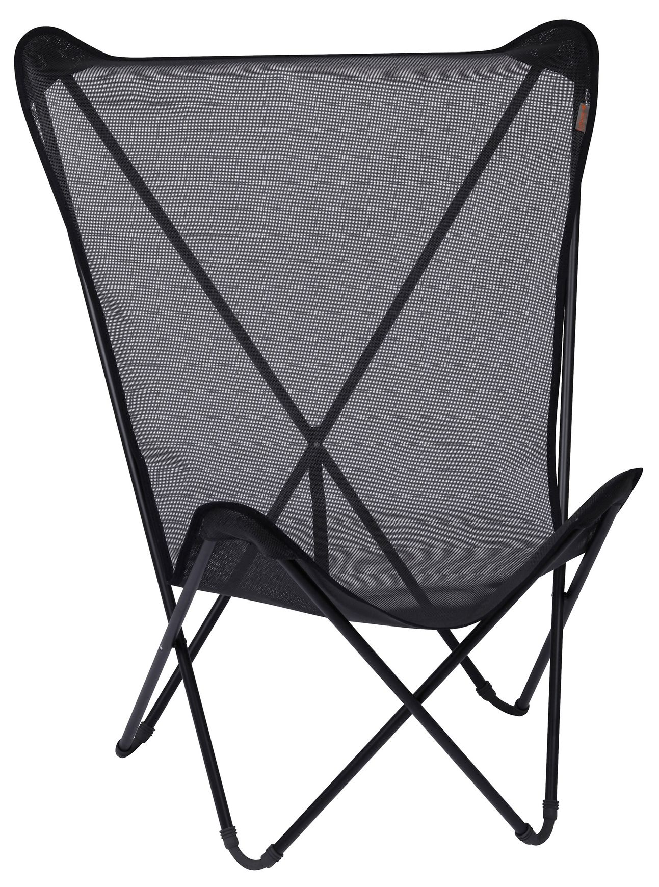 lafuma pop up chairs oversized adirondack maxi fun black tube noir mobilier