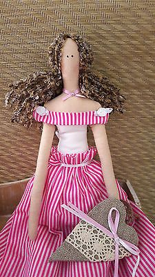 #Tilda doll #angel . birthdaygift/home #decoration/handmade doll,  View more on the LINK: http://www.zeppy.io/product/gb/2/111963376600/