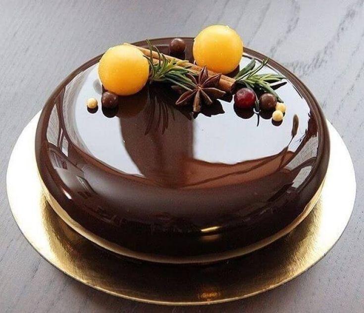 Шоколадная глазурь для торта из какао, хорошо застывающая ...