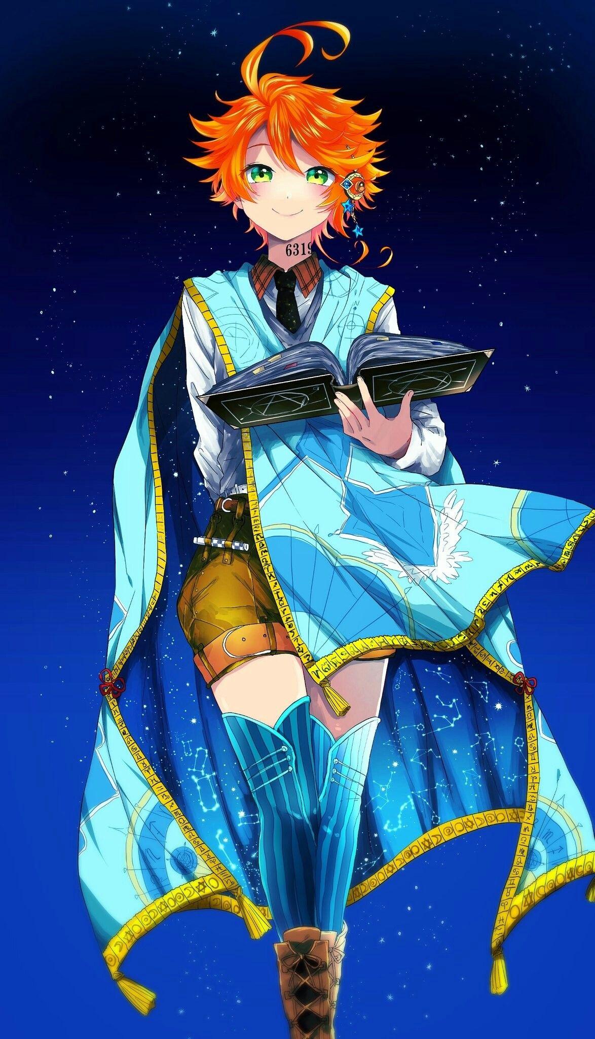 Emma The Promised Neverland Anime films, Neverland art