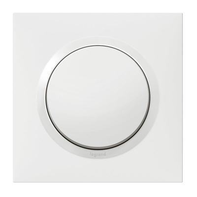 Interrupteur Ou Va Et Vient Dooxie 10ax 250v Livre Avec Plaque Carree Blanche Interrupteur Interrupteur Legrand Interrupteurs