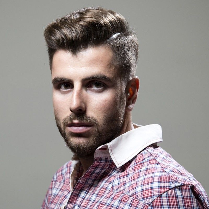 Popular Mens Haircuts Shaved Sides Mens Hairstyles Pinterest