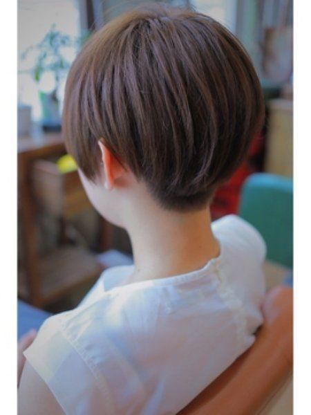 ツーブロック女子 刈り上げ女子の参考画像 子供のヘアカット 短い