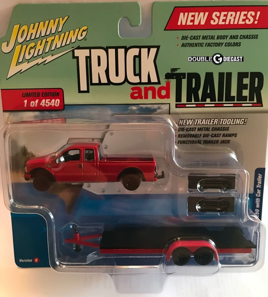 1 64 johnny lightning truck trailer 2018 release 1b 2004 ford f