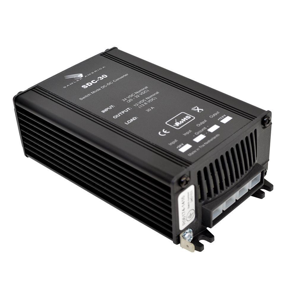 Samlex 30A NonIsolated StepDown 24VDC12VDC Converter