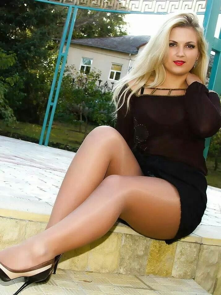 Theme simply hot wearing pantyhose All