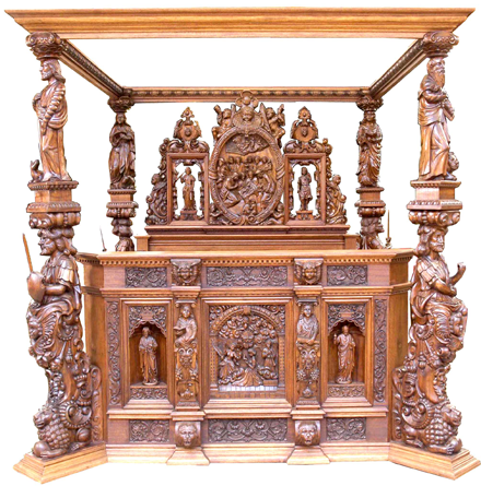 The Magnificent Royal Danish Ceremonial Bed Bedroom