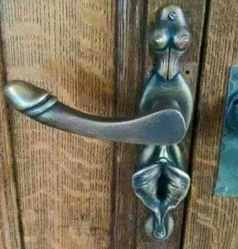 Erotic door knockers