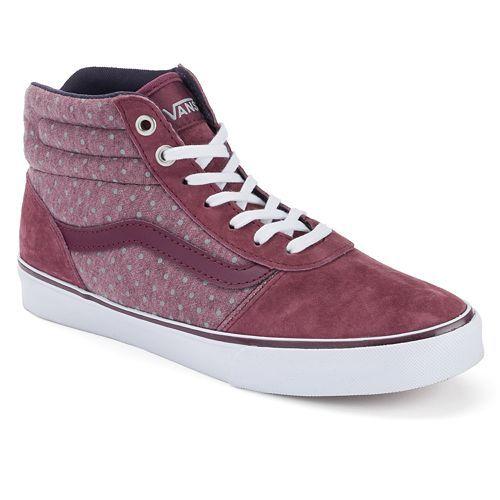 d3e5177941a2 Vans Milton Women s Polka-Dot High-Top Skate Shoes