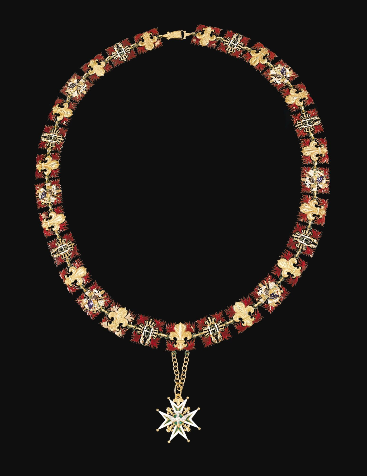 Order of the Holy Spirit - Collar belonged to Louis-Philippe d'Orléans, later King Louis-Philippe I of the French