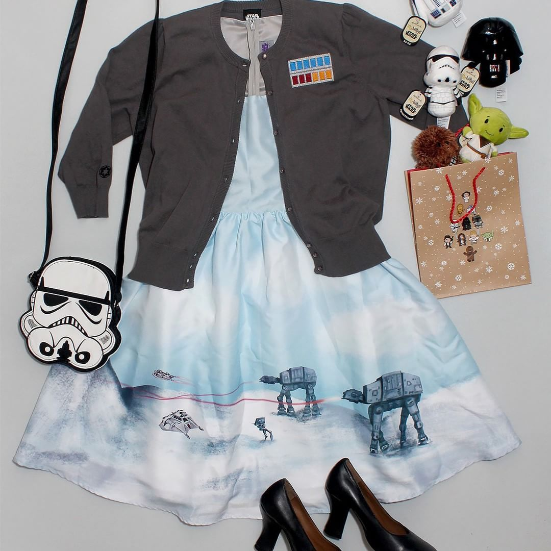 https://www.instagram.com/p/9tuARxMQrU/ #thekesselrunway #starwarsfashion
