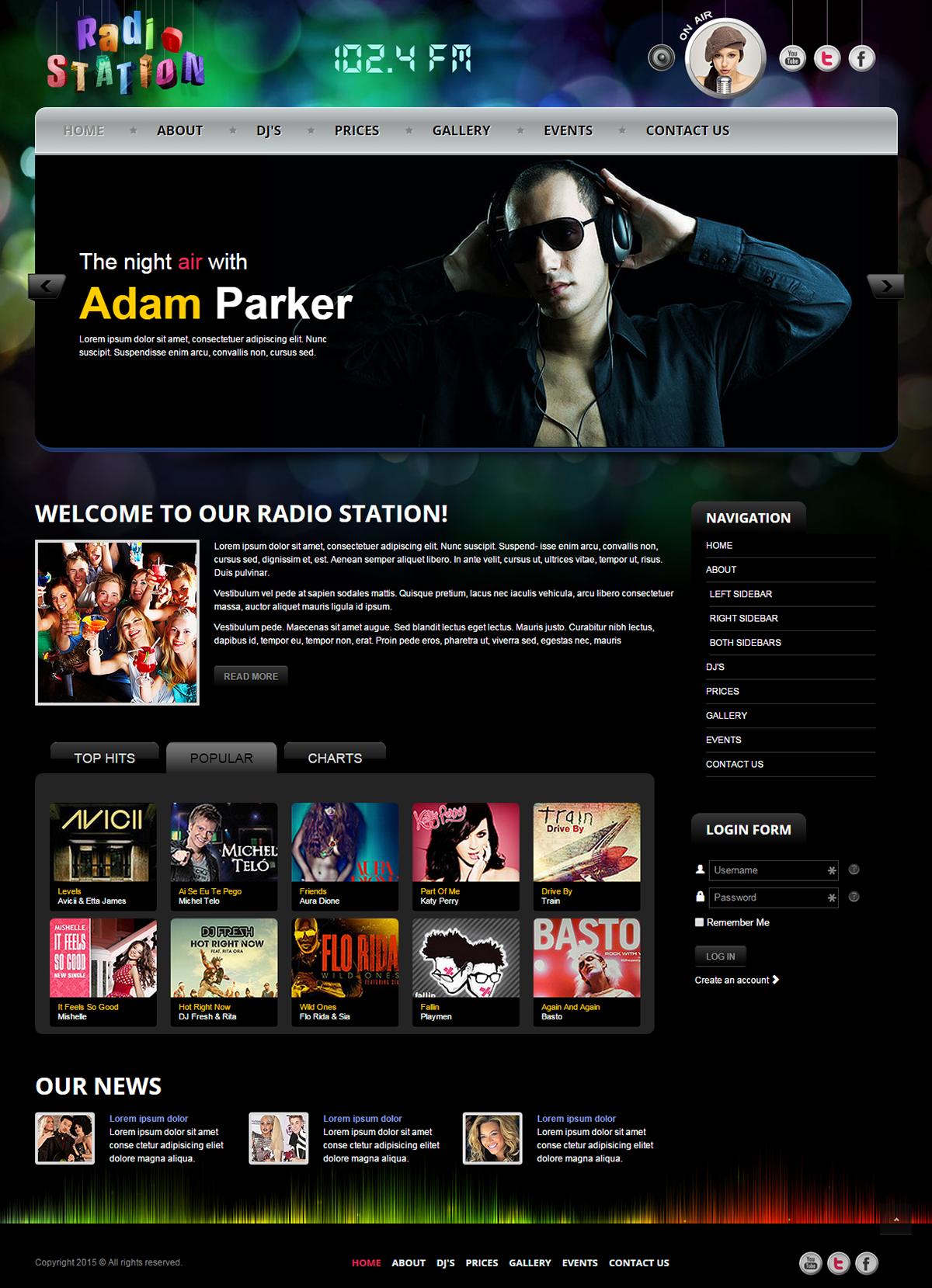 Сайты для создания бесплатного радио римский квадрат ижевск строительная компания официальный сайт