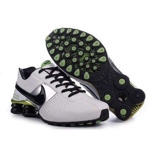Find Quality Men's Nike Shox OZ Shoes White/Black/Silver/Green New Release  and more on Pumacreppers.