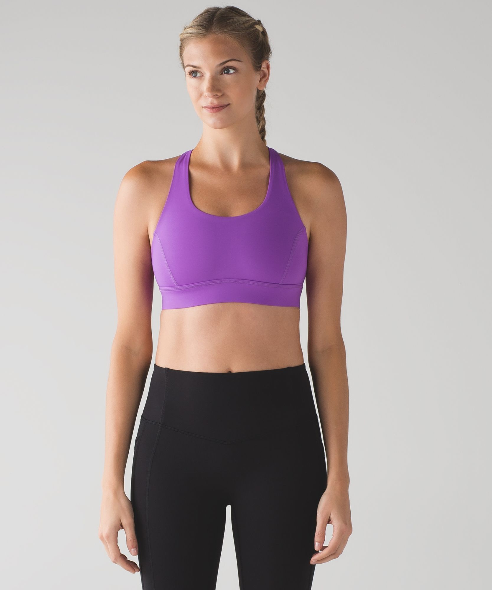 Break a sweat—this bra is designed for highimpact