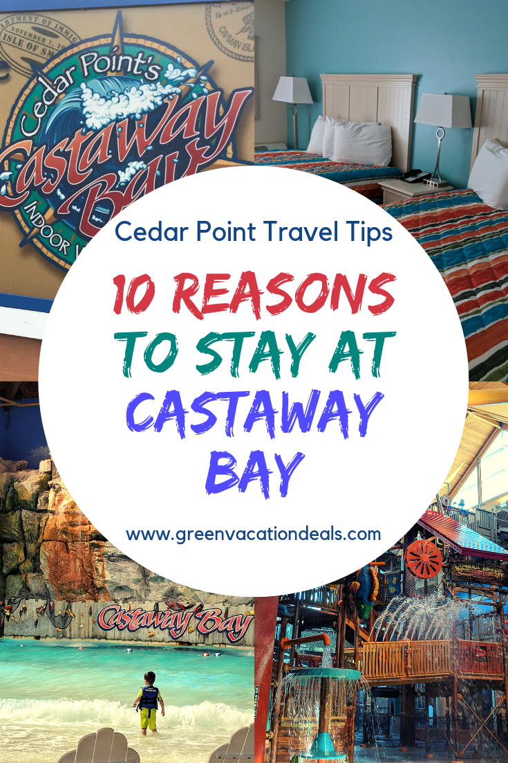 10 Reasons To Stay At Castaway Bay At Cedar Point Resort In Sandusky Ohio Castaway Bay Cedar Point Midwest Travel