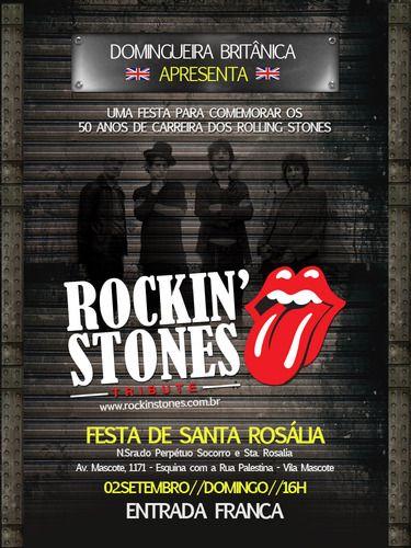 Festa de Santa Rosália - Rockinstones - Show de graça pra galera de Sampa com o Rockinstones na domingueira britânica com tributo aos Rolling Stones - Fotolog