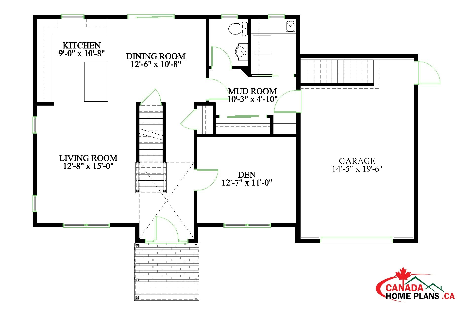 Fundy House Plans Ground Floor Plan How To Plan