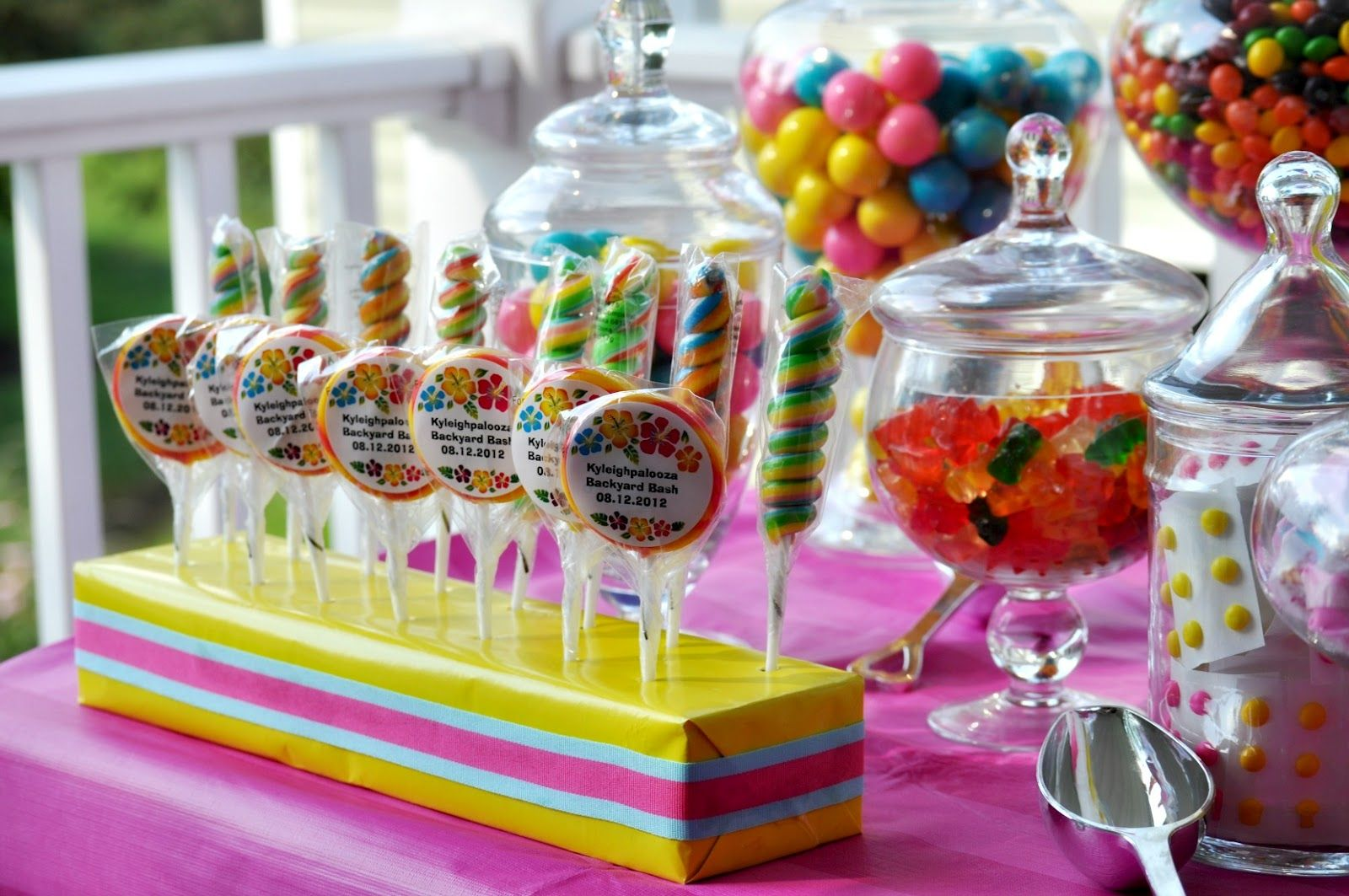 candy table yes ideas for birthday partycarnival