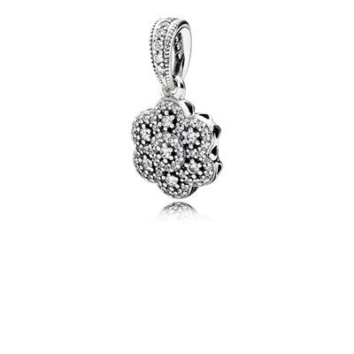 Crystallised floral necklace pendant 390392cz pandora crystallised floral necklace pendant 390392cz aloadofball Choice Image