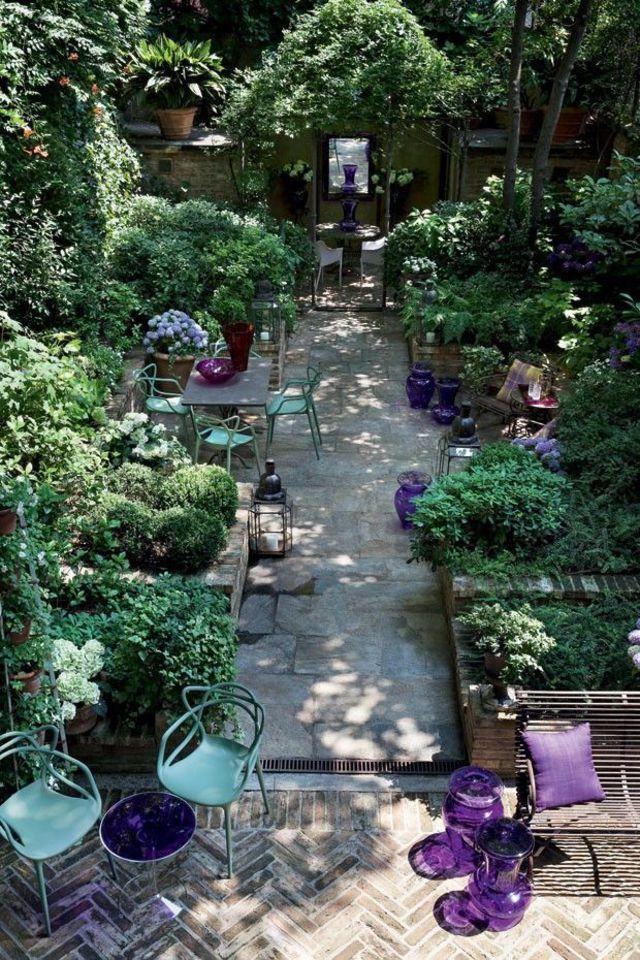 amnagement petit jardin de ville 11 ides via pinterest ct maison