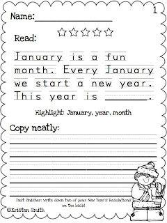Happy New Year's Sale!! | Holidays at School | Kindergarten writing ...