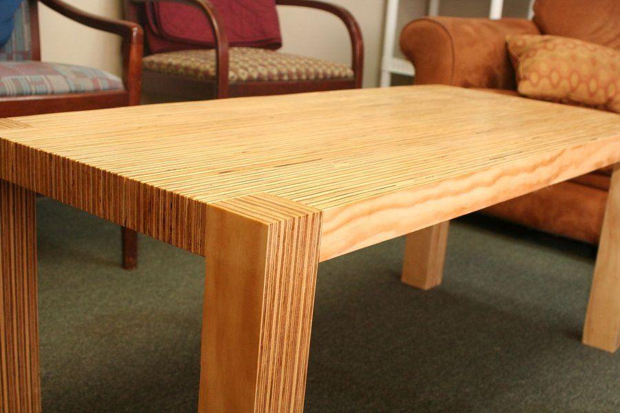 Charmant Modern Plywood Coffee Table