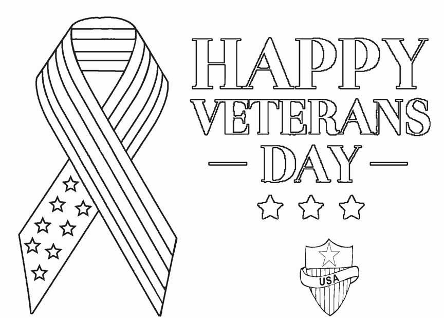 Get Printable Veterans Day Coloring Pages Images 2019 Free