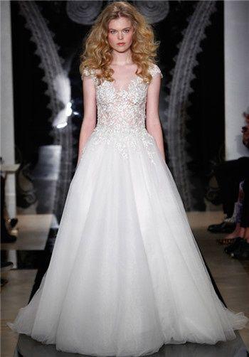 Reem Acra Wedding Dresses - Fabiola   wedding dresses   Pinterest ...