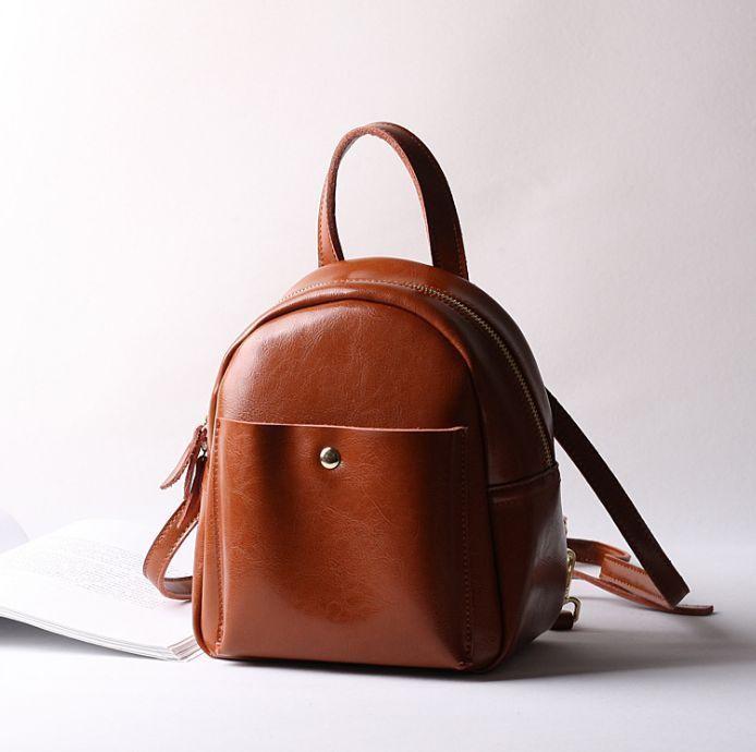 512fa948ce Korean Women Genuine Cow Leather Backpack Handbag Purse Fashion S Travel  4Colors