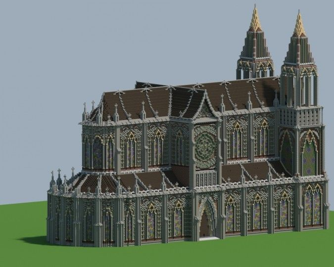 Renaissance Cathedral Minecraft Project | Minecraft ...
