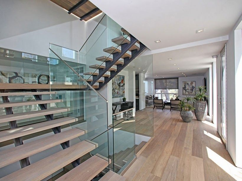 Sharp modern home with killer views of los angeles on world of