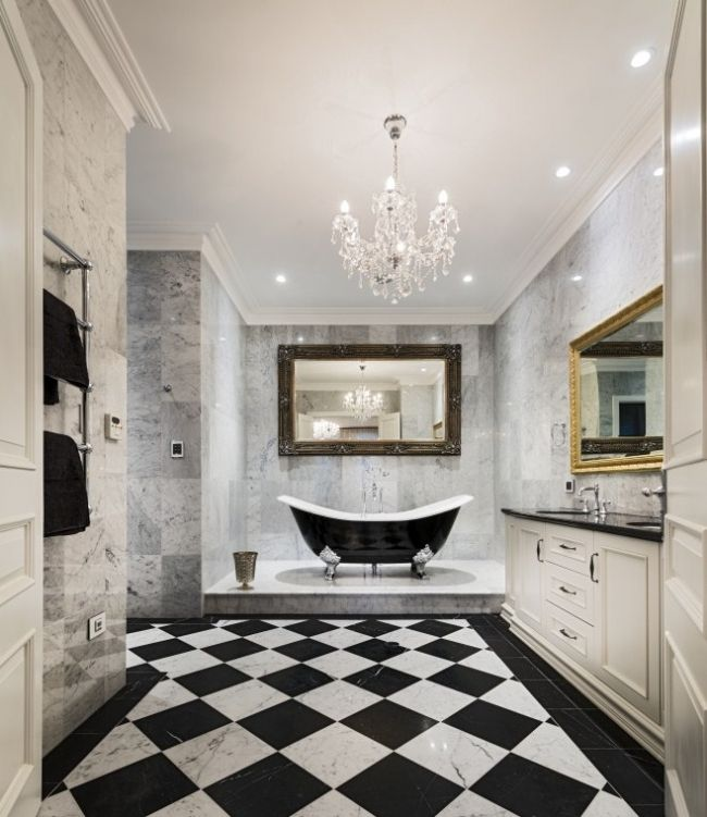 Dream Master Bathroom Luxury Modern