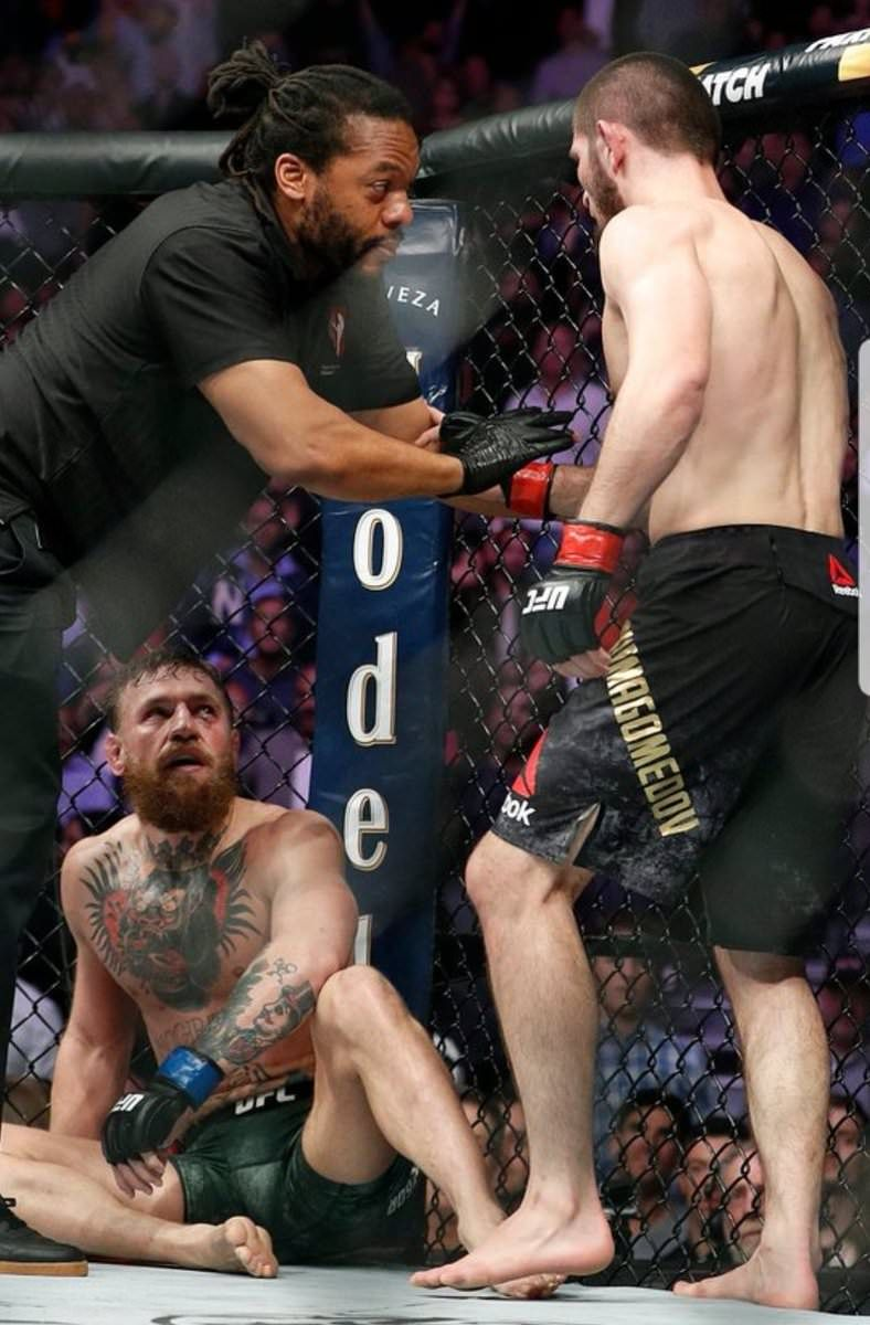 Spoiler Khabib Nurmagomedov Vs Conor Mcgregor Ufc Championship Fight Mma Fans A Picture Is Worth A Thousand Words Ufc Events Ufc Boxing Ufc Fighters