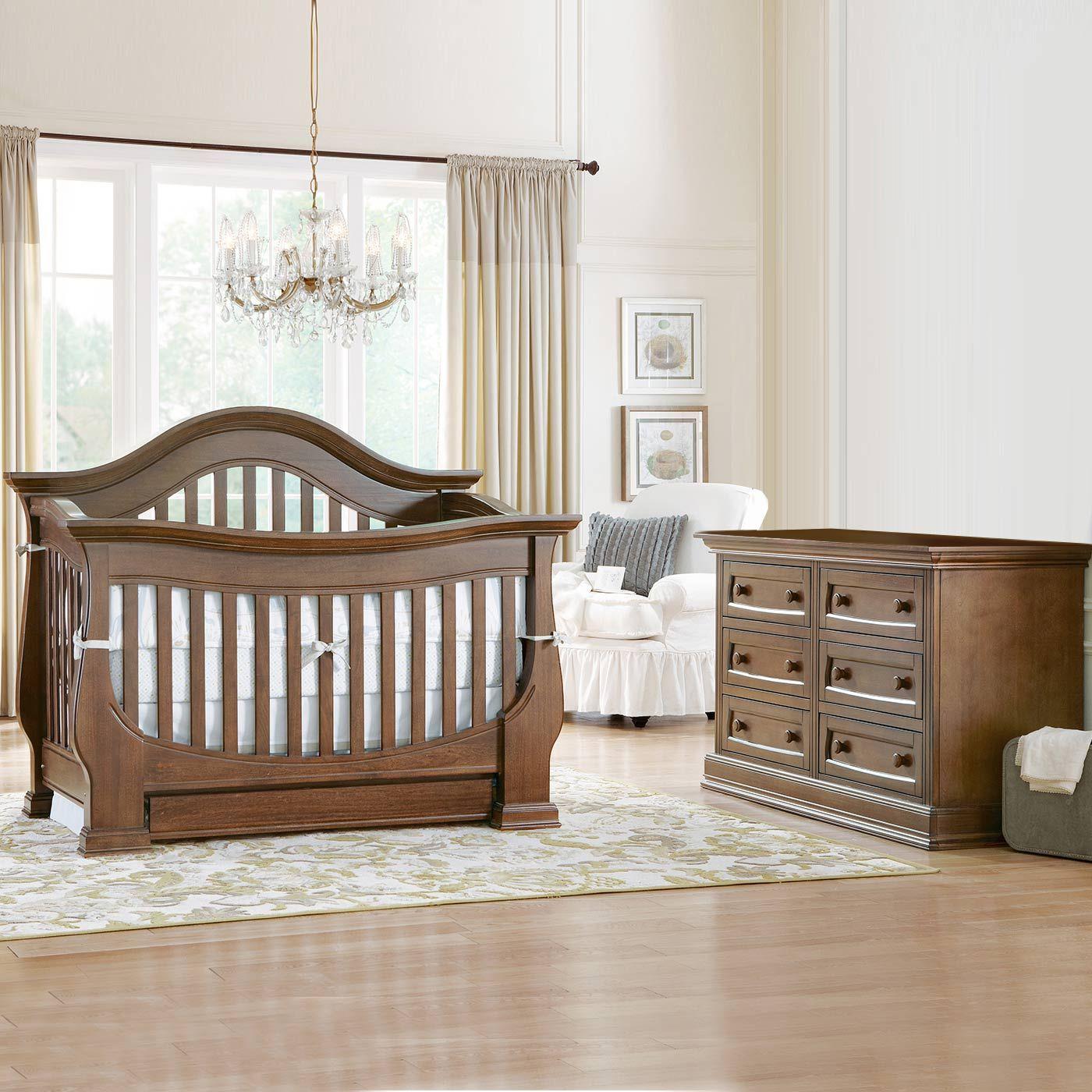 Baby Appleseed 2 Piece Nursery Set Davenport 3in1