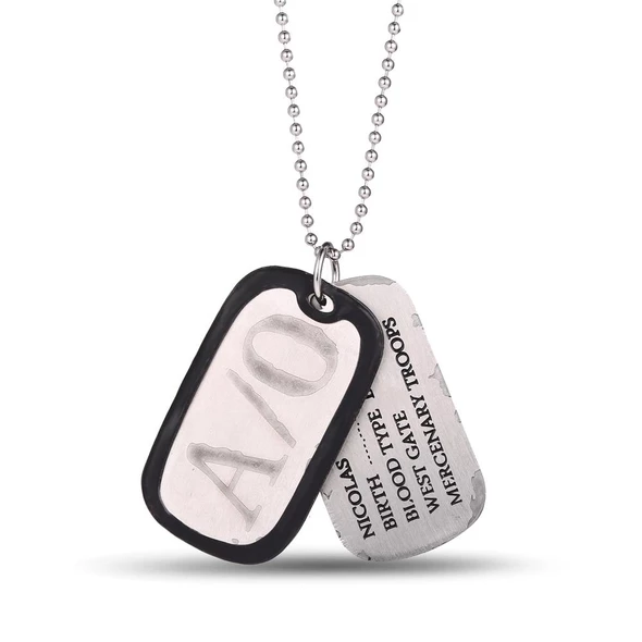 Ms Jewels Gifts Jewelry Anime A O Gangsta Nicolas Brown Dog Tags Penda Intothea Necklace Chains Necklace Jewelry Gifts
