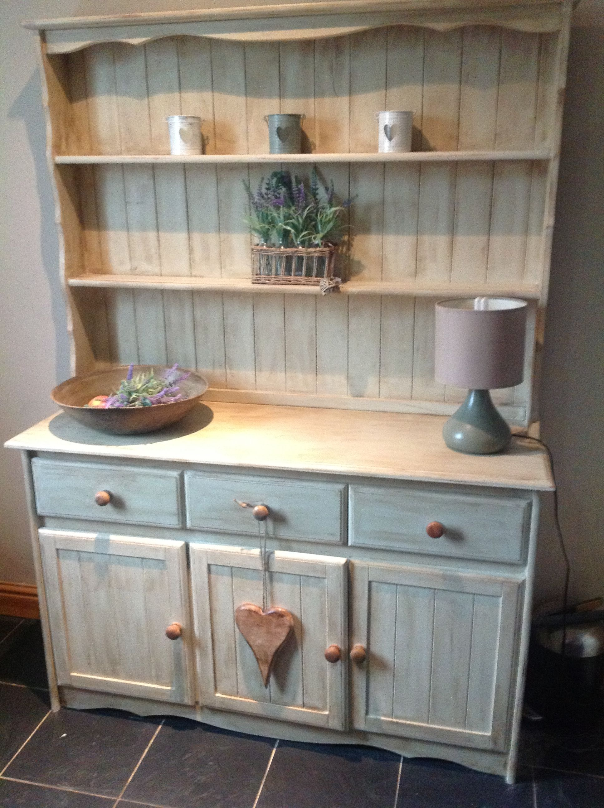 Welsh Dresser Painted In A Mix Of Annie