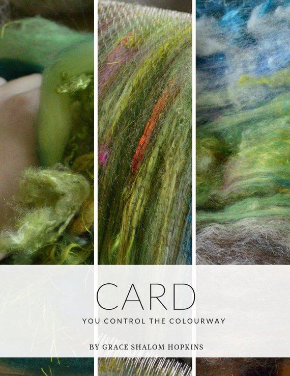 CARD Drum Carding Book - Drum Carding (Art Batt and Smooth