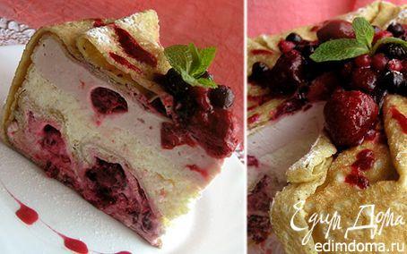 кулинария рецепты блинный торт