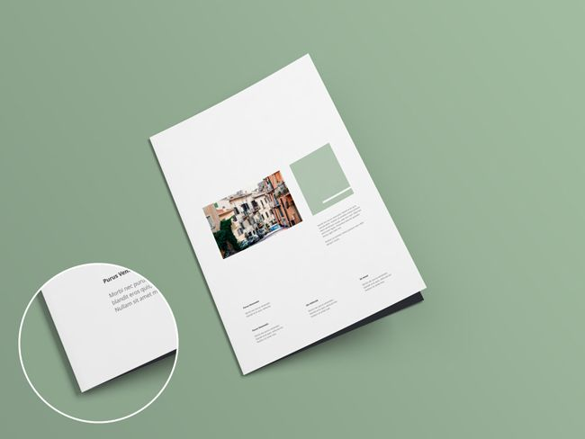 A Collection Of Free Psd Brochure Mockups Mockup Brochures And