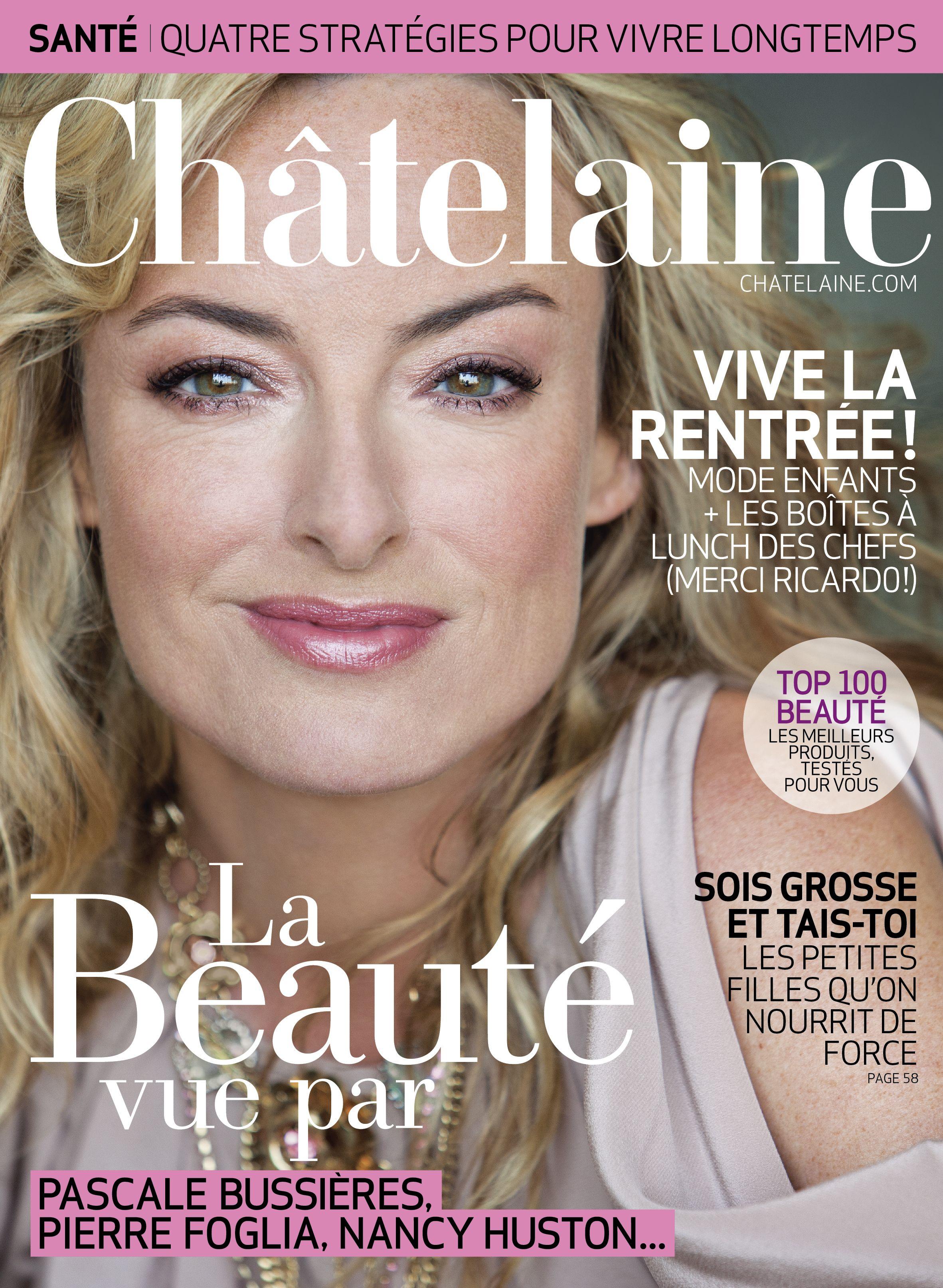 Numéro de septembre 2011 #PascaleBussieres #Beaute #Top100delabeaute