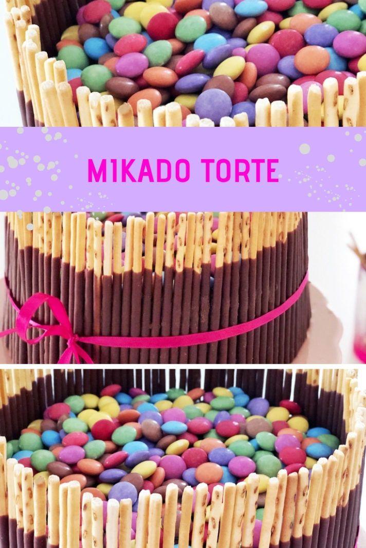 Mikado Torte Rezept | MiniMenschlein.de ♡ #schnelletortenrezepte