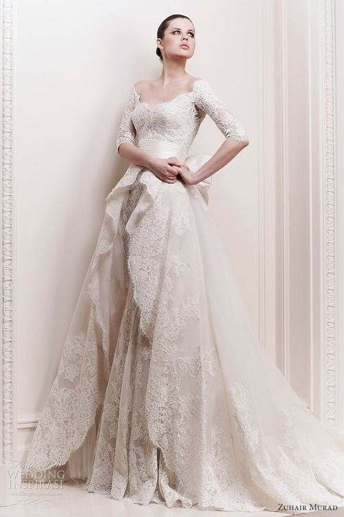 Shabby Chic Wedding Dress Countrysidelife Zuhair Murad - Shabby Chic Wedding Dress