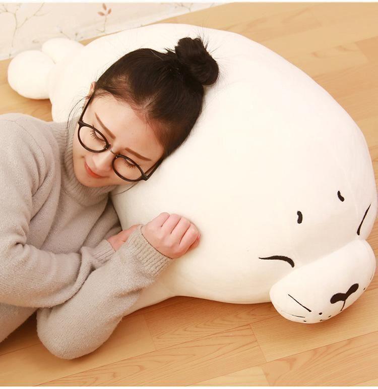 Toys & Hobbies Popular Brand Fancytrader Anime Emoji Raccoon Plush Toy Big Soft Stuffed Cat Doll 80cm Childrens Day Gift For Kids