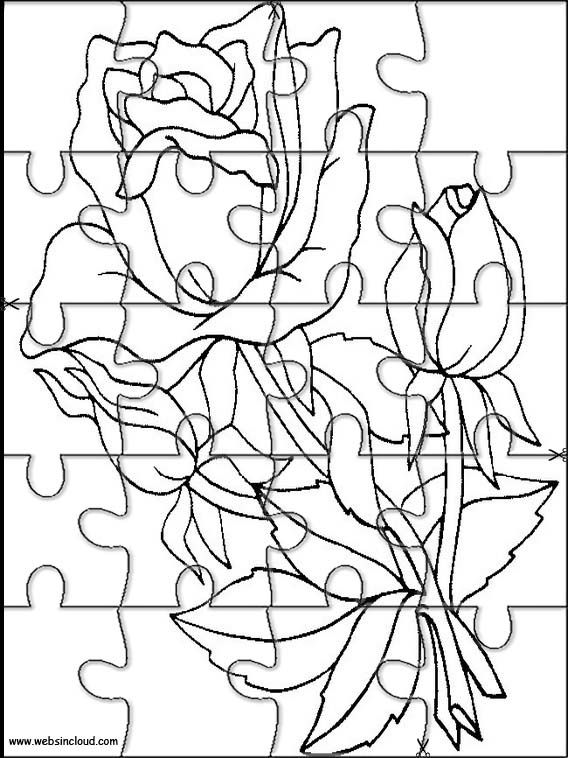 Printable jigsaw puzzles to cut out for kids Nature 10 Coloring ...