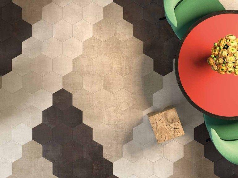TEXTILE Bodenbelag Kollektion TexTile by Ceramiche Marca Corona ...