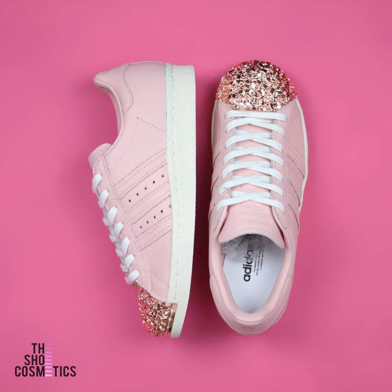 adidas superstars light rosa